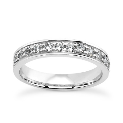 Pave Setting Diamond Engagement Rings