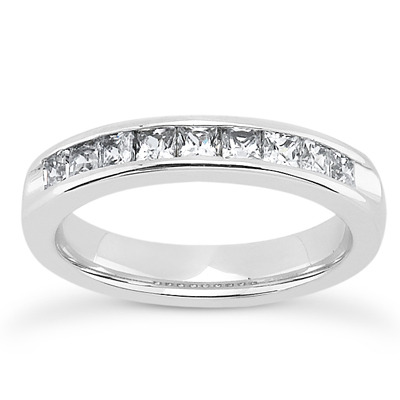 Plain Diamond Engagement Rings