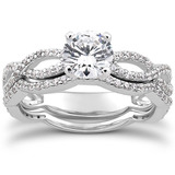 Regular Petite Diamond Engagement Rings