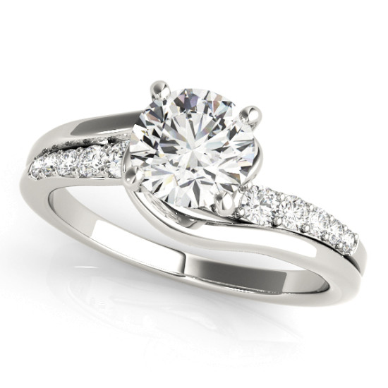 ENGAGEMENT RINGS BYPASS #50814-E
