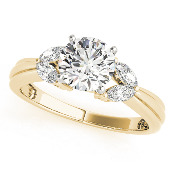 ENGAGEMENT RINGS FANCY SHAPE MARQUISE REMOUNTS #84362