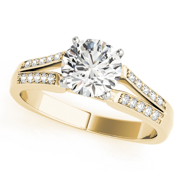 ENGAGEMENT RINGS MULTIROW #50262-E