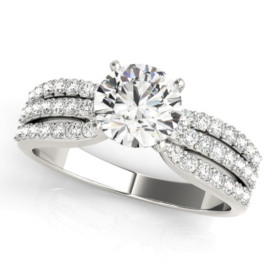 ENGAGEMENT RINGS MULTIROW #50622-E