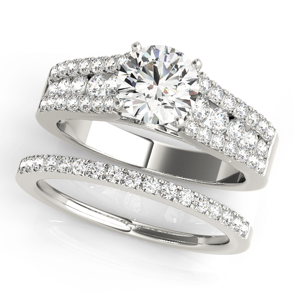 ENGAGEMENT RINGS MULTIROW #50809-E