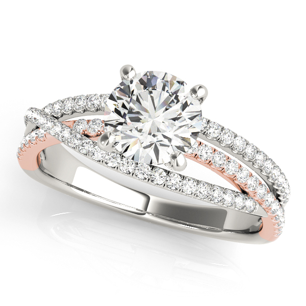 ENGAGEMENT RINGS MULTIROW #50862-E
