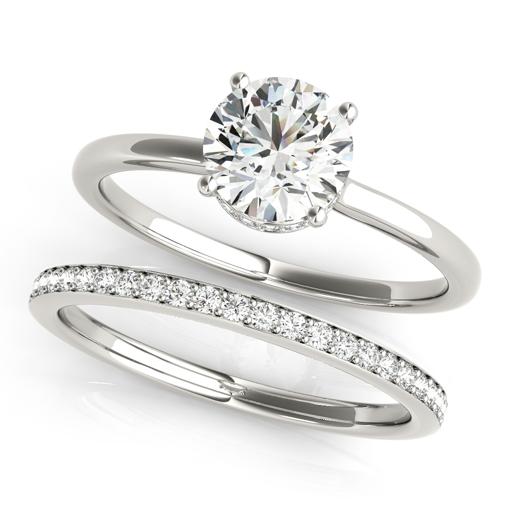 ENGAGEMENT RINGS ROUND #51138-E