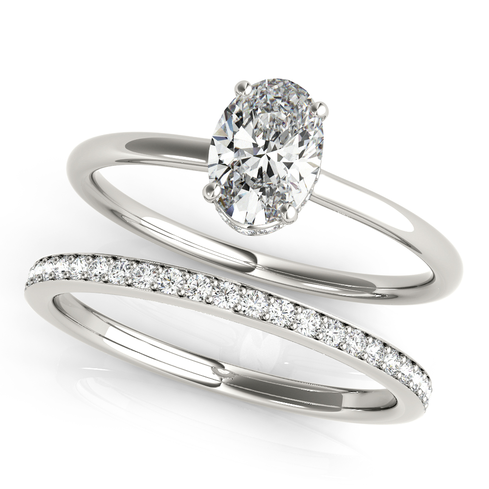 ENGAGEMENT RINGS OVAL #51141-E