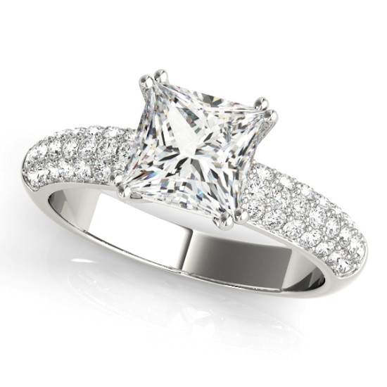 ENGAGEMENT RINGS PAVE #50358-E