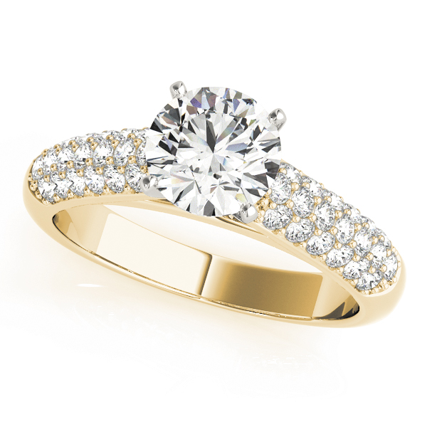 ENGAGEMENT RINGS PAVE #50420-E
