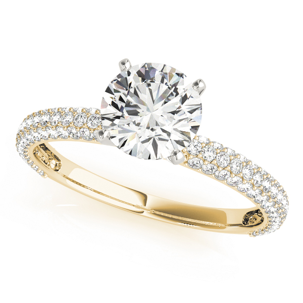 ENGAGEMENT RINGS PAVE #84370