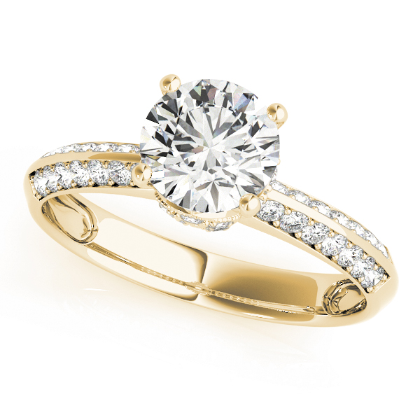 ENGAGEMENT RINGS PAVE #84387