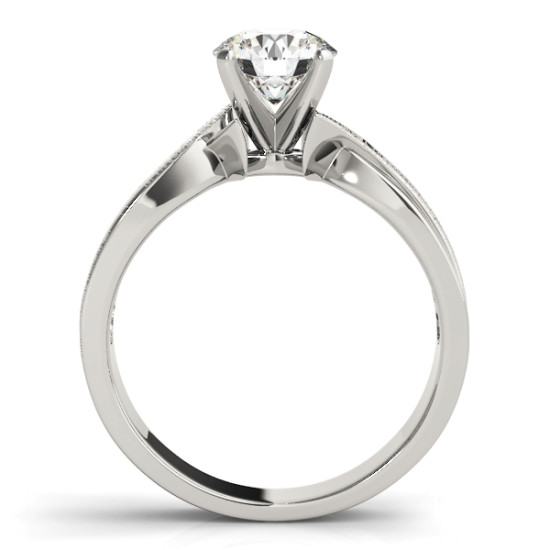 ENGAGEMENT RINGS SOLITAIRES ANY SHAPE #50040-E