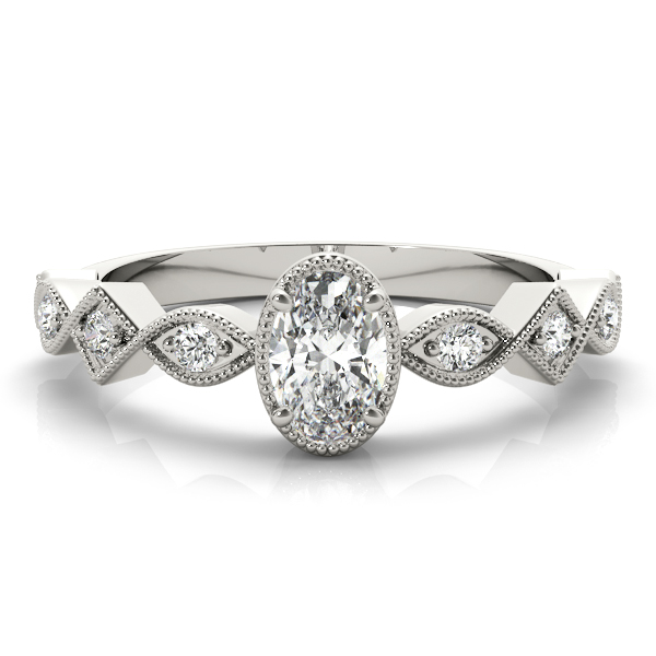 OVAL COLOR CENTER RING #85040