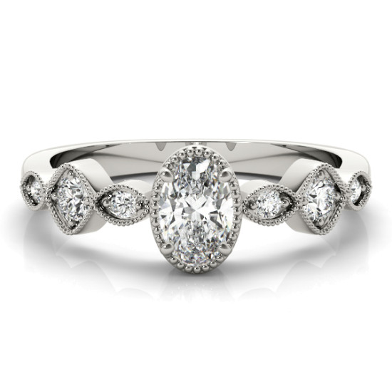 OVAL FASHION RING #85054