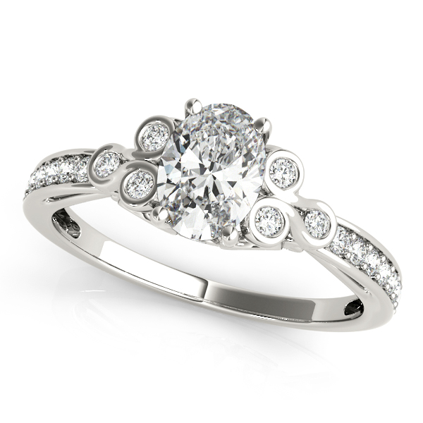 OVAL FASHION RING #85069