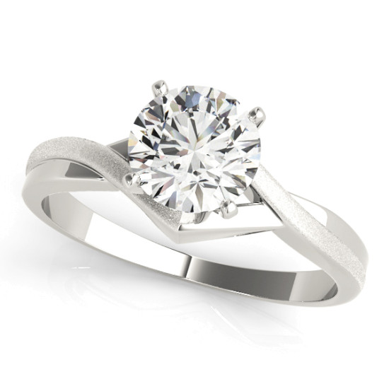 14kt Solitaires Cut Diamond Engagement Ring  Null Style