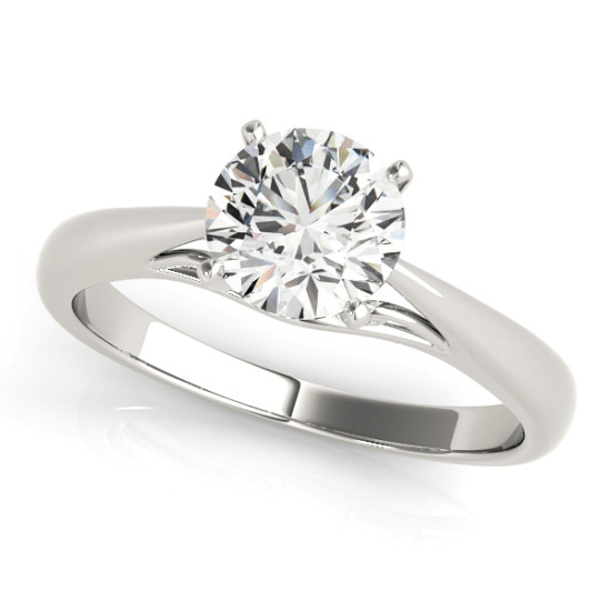 ENGAGEMENT RINGS SOLITAIRES ANY SHA #50396-E