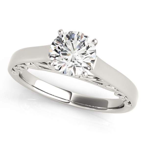 ENGAGEMENT RINGS SOLITAIRE ANY SHAPE #50818-E