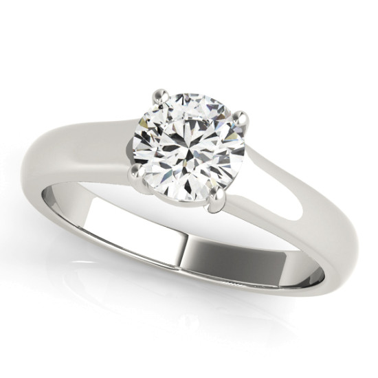 ENGAGEMENT RINGS SOLITAIRES ROUND #83335
