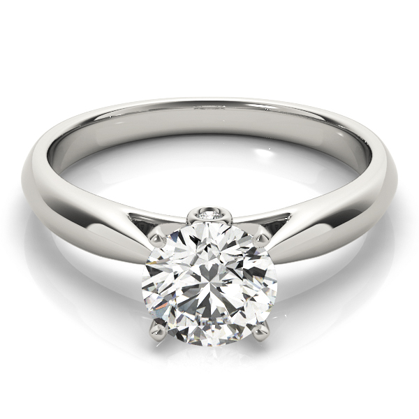 ENGAGEMENT RINGS SOLITAIRES ROUND #84355