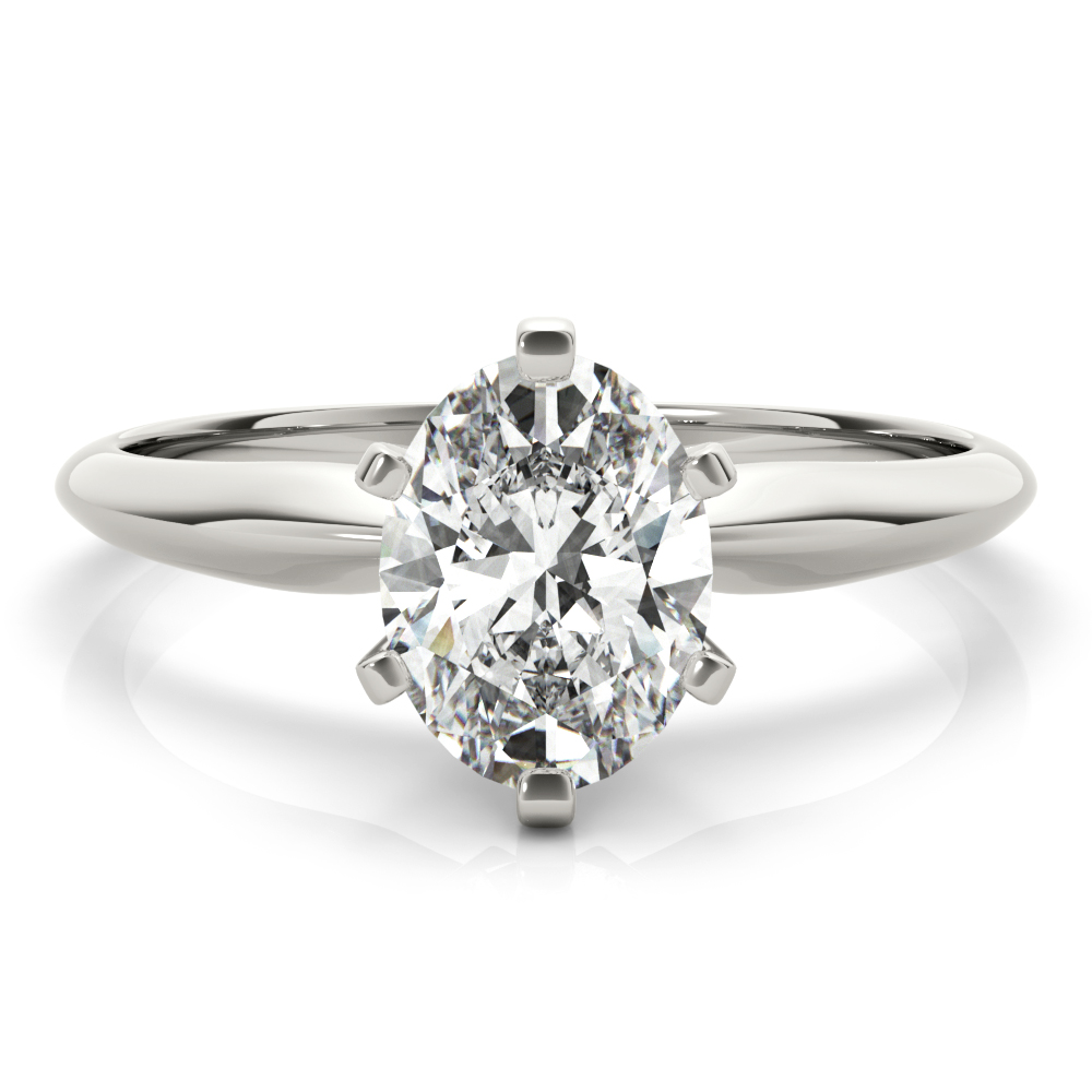 OVAL SOLITAIRES 3.0CT #F1624-10X8
