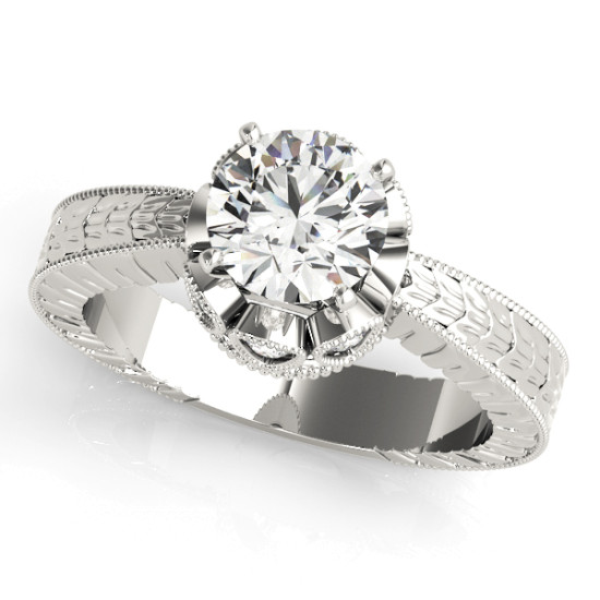 ENGAGEMENT RINGS SOLITAIRES ROUND #84312
