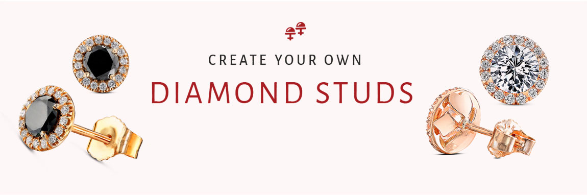 Create your own Diamond Studs