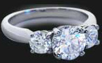 Complete your Three Stone Ring