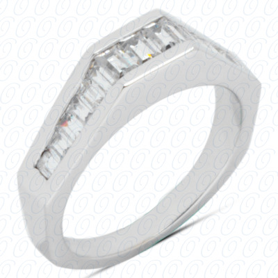 14KP Channel Set 0.89 CT. Baguette