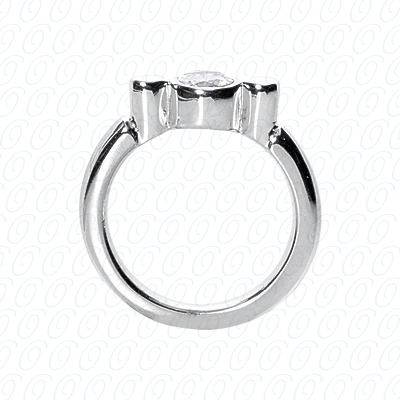 PLAT Fancy Rings 0.00 CT. Fancy Rings