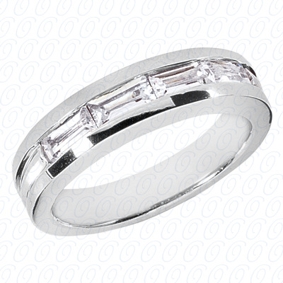 14KP Wedding Bands 0.00 CT. Mens Rings