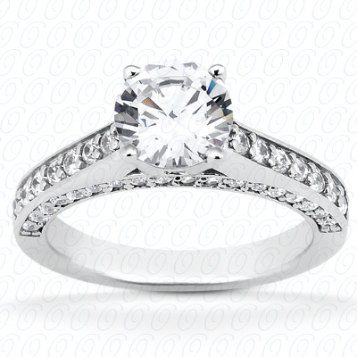 14KP Fancy 0.60 CT. Engagement Rings
