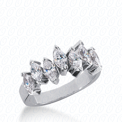 14KP Marquise Cut Diamond Unique <br>Engagement Ring 1.20 CT. Wedding Bands Style