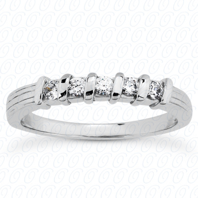 14KP Round Cut Diamond Unique <br>Engagement Ring 0.25 CT. Wedding Band Sets Style