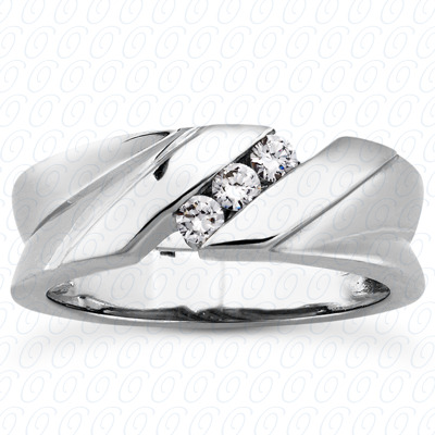 14KP Round Cut Diamond Unique <br>Engagement Ring 0.24 CT. Wedding Band Sets Style