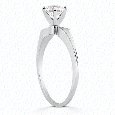 18KP Interchangeable Heads Cut Diamond Unique Engagement Ring