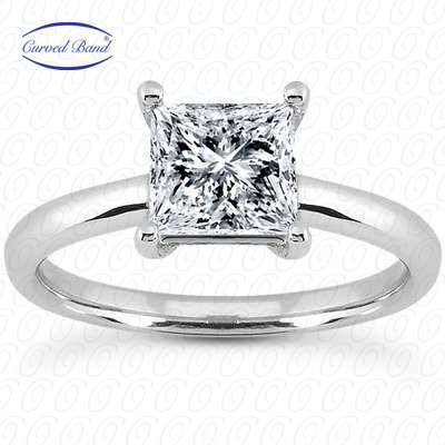 14KP Princess 0.06 CT. Solitaires