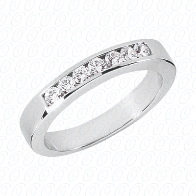 14KP Wedding Bands 0.35 CT. Mens Rings