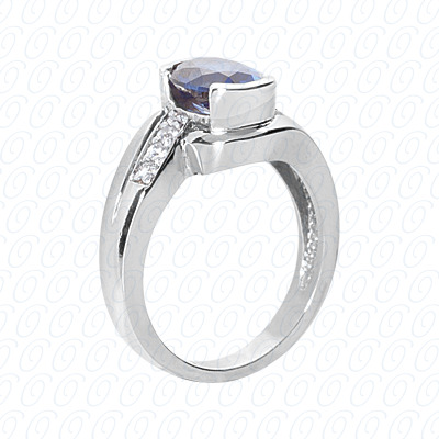 PLAT Fancy Rings 0.16 CT. Fancy Rings