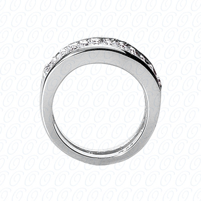 14KP Fancy Rings Cut Diamond Unique <br>Engagement Ring 1.76 CT. Fancy Rings Style
