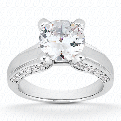 14KP Fancy 0.30 CT. Engagement Rings