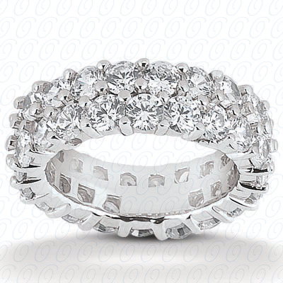 14KP  Round Cut Diamond Unique <br>Engagement Ring 2.30 CT. Eternity Wedding Bands Style