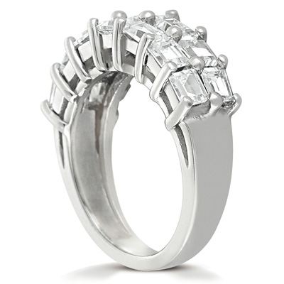 14KP Prong 2.78 CT. Baguette