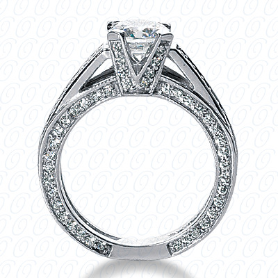 14KP Fancy Cut Diamond Unique <br>Engagement Ring 0.99 CT. Engagement Rings Style