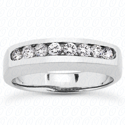 14KP Round Cut Diamond Unique <br>Engagement Ring 0.32 CT. Wedding Band Sets Style