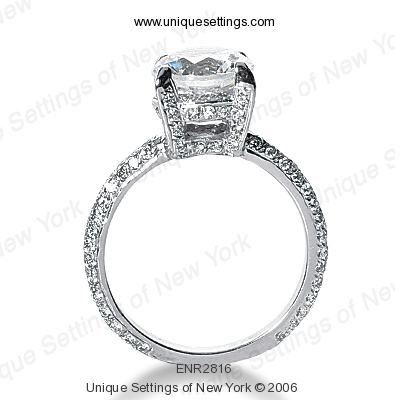 14KP Fancy 0.76 CT. Engagement Rings