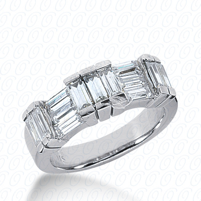 14KP Channel Set 1.82 CT. Baguette