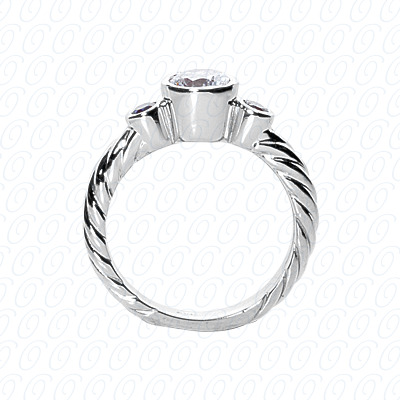 14KP Fancy Rings 0.10 CT. Fancy Rings