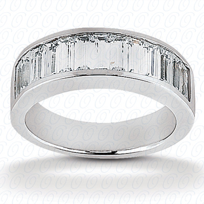 14KP Channel Set 1.02 CT. Baguette
