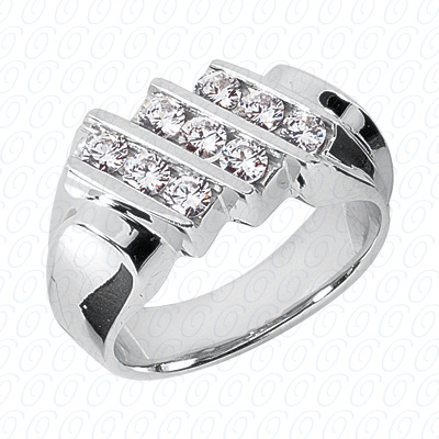 14KP Fancy Styles Cut Diamond Unique Engagement Ring 1.08 CT. Mens Rings Style